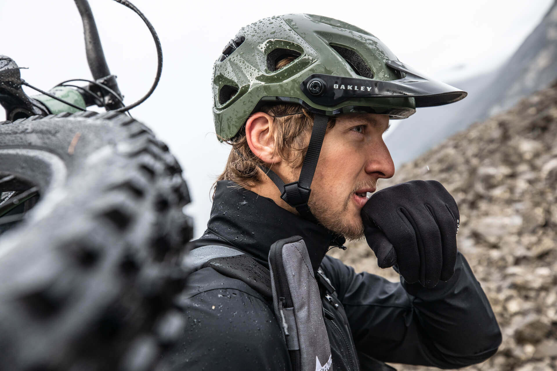 Bergzeit Foto Shooting Hansi Heckmair Bike